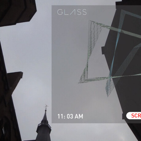 Google Glass screensaver