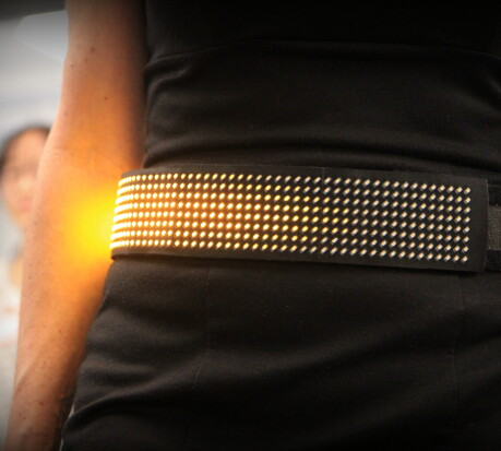 Wearable LED Display