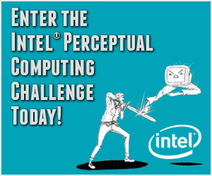 Sponsored Post: Enter the Intel Perceptual Computing Challenge