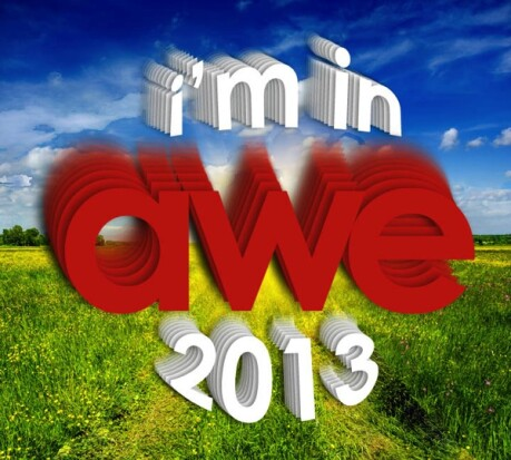 Thanks for Making AWE 2013 AWEsome!